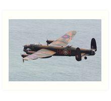 The Lancaster Bomber Art Print