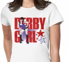 Si LenceHer Derby Girl Womens Fitted T-Shirt