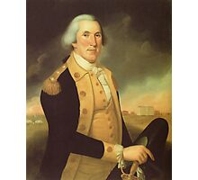 General George Washington Photographic Print