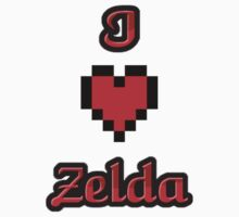 I Heart Zelda tee One Piece - Short Sleeve