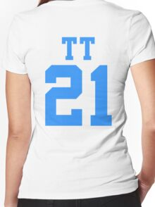 BTS/Bangtan Boys 'TT 21' Women's Fitted V-Neck T-Shirt