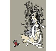 Mad Alice: The Hatter is Dead Photographic Print