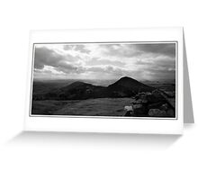 Eildons View 1 Greeting Card