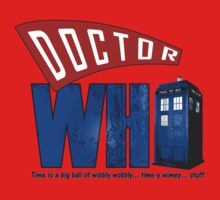 A Dr Who Logo Kids Clothes