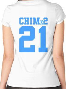 BTS/Bangtan Boys 'CHIMx2 21' Women's Fitted Scoop T-Shirt