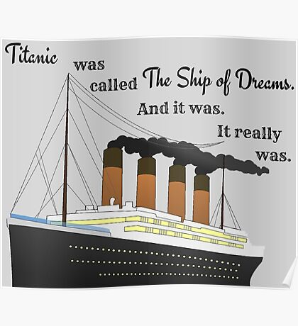 Titanic Quote Poster