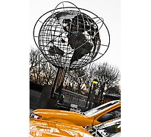Yellow Taxi in New York City Photographic Print