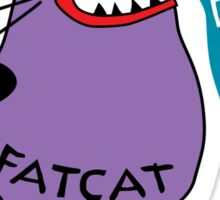 Fat Cat Sticker