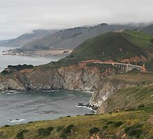 Bixby Bridge, Hwy 1, Big Sur area, CA by Maurine Huang