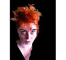 Flamehead Photographic Print