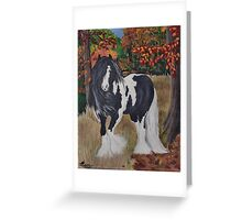 Gypsy Autumn Greeting Card