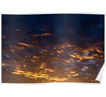 Silky sunrise Poster
