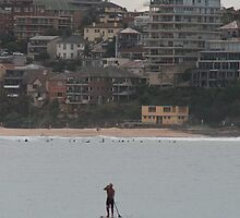 Standing around, @ Manly Beach  by MrJoop