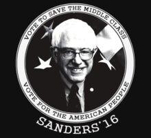 Bernie Sanders For President 2016 by SocialRemark