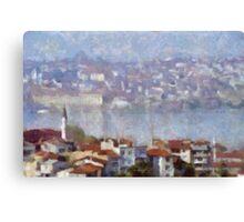 View Of Istanbul Canvas Print