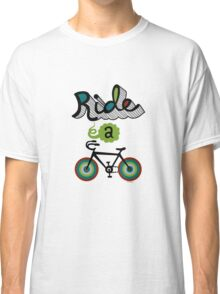 Ride a bike 3 Classic T-Shirt