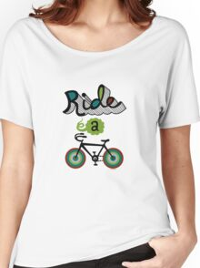 Ride a bike 3 Women's Relaxed Fit T-Shirt