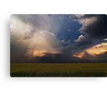 Light and Shadow on the Central Plains Canvas Print