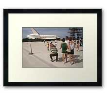 Shuttle Enterprise Framed Print