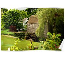 Grist Mill -Brewster MA Poster