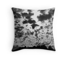 """""""Clouded Minds"""" - by Trout MaGee Throw Pillow"""