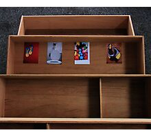 Four Treasures in a Drawer Photographic Print