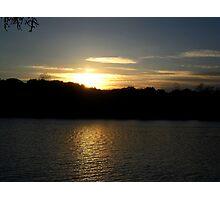 Spring Lake, Napa Valley Photographic Print