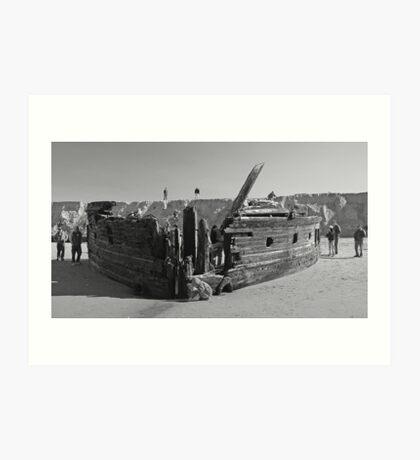 Shipwreck 8 Art Print