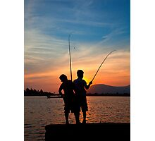 On the Kampot River, Cambodia Photographic Print