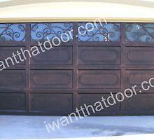 Wrought Iron Garage Doors by iwantthatdoor