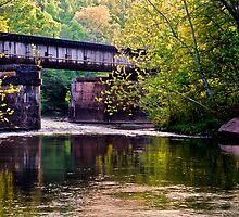 Crossing Buck Creek by Phillip M. Burrow