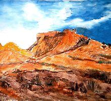 Adam Pearson's 'Flinders Ranges' by Art 4 ME