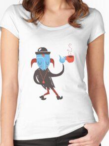 city slicker Women's Fitted Scoop T-Shirt