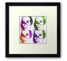 Catalea's Colour Selfies Framed Print
