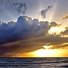 Stormy Sunrise by Debbie Pinard