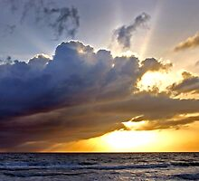 Stormy Sunrise by Debbie Pinard