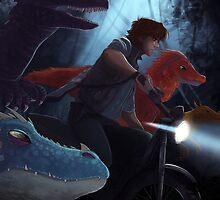 Jurassic Dragons~ by kit-replica