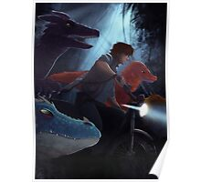 Jurassic Dragons~ Poster