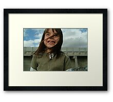 Silly Afternoon. Framed Print