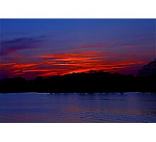 The Last Burning Embers of Sunlight Photographic Print