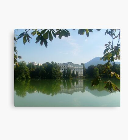 Reflection - Sound of Music - Austria Canvas Print