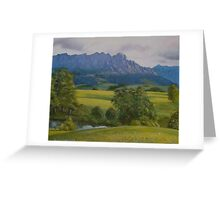 Theres gold in them thar hills.. Greeting Card