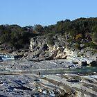 Pedernales Falls by Cathy Jones