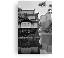 Old Meets New:  Imperial Gardens, Tokyo Metal Print