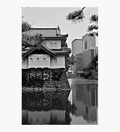 Old Meets New:  Imperial Gardens, Tokyo Photographic Print