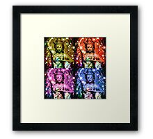 Godess Collage Framed Print