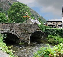 Beddgelert Bridge by Carolyn Boyden