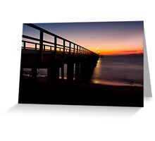 Dawn approaches Greeting Card