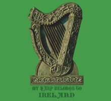 My Harp Belongs To Ireland by Kezzarama