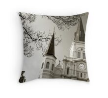 St. Louis Cathedral #3 Throw Pillow